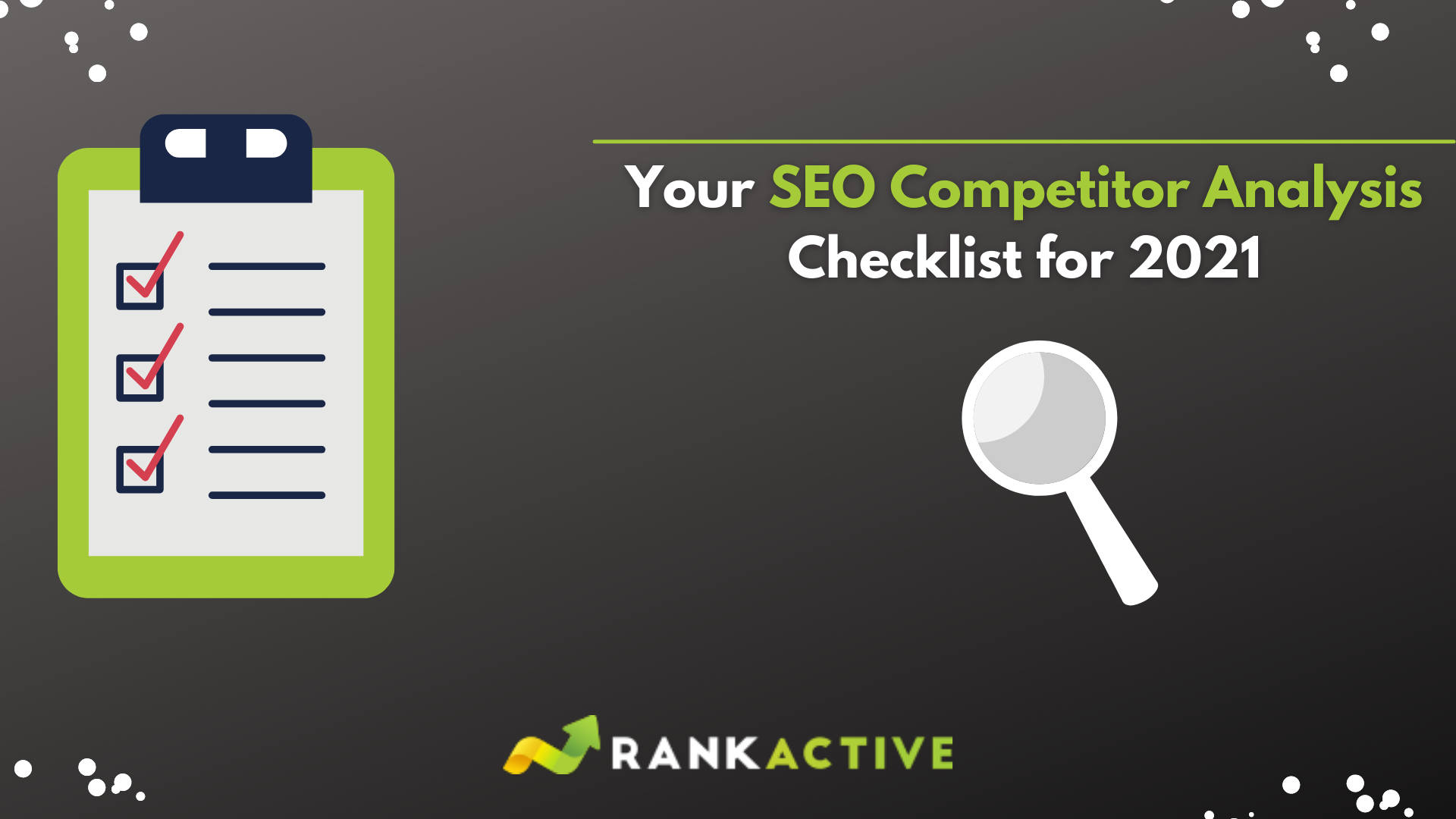 SEO Competitor Analysis Checklist