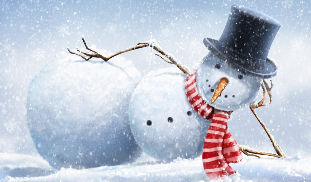 build a snowman with your seed keywords