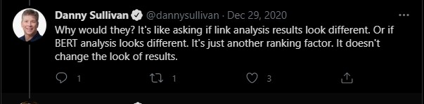 Danny Sullivan always tweets smth smart