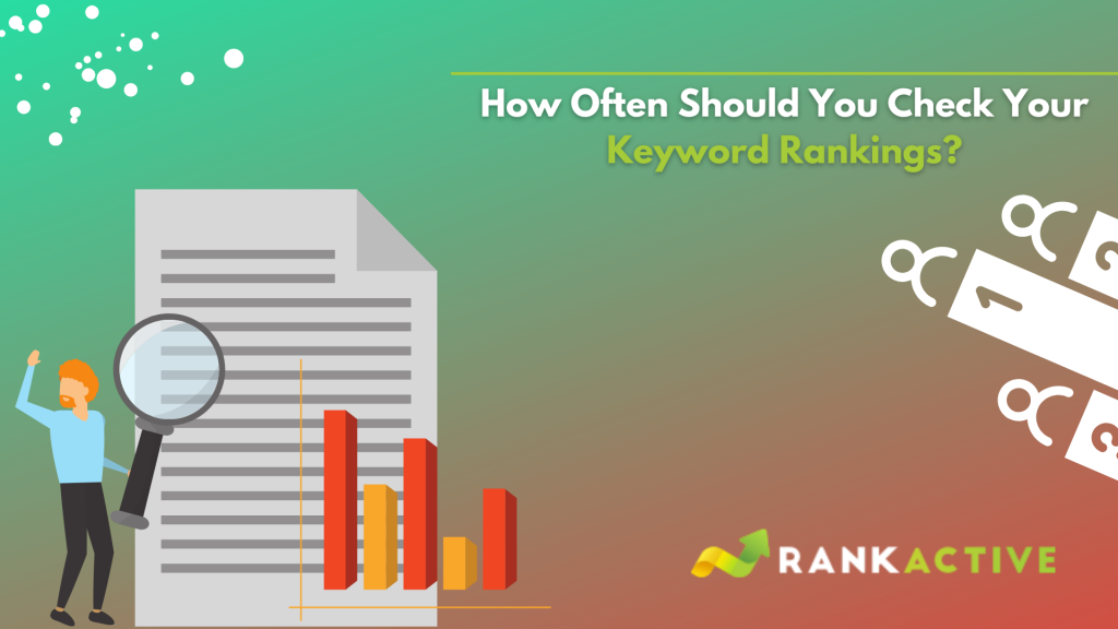 how often should you check keyword rankings
