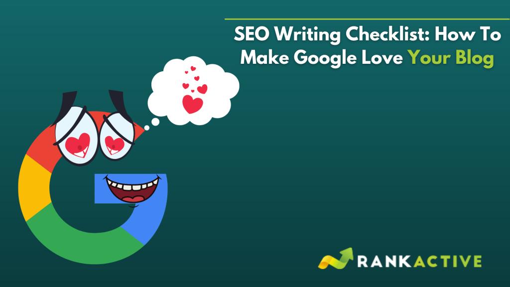 SEO writing checklist